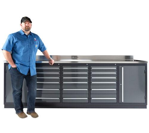 Garage Workbench Tool Box