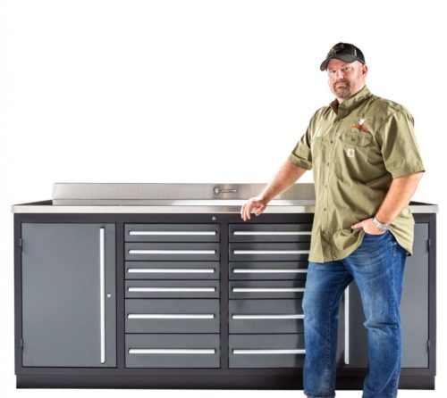 Heavy Duty 12 Drawer Workbench