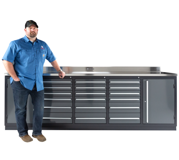 Excellent Heavy Duty Industrial All Steel Workbenches With Drawers Theyellowbook Wood Chair Design Ideas Theyellowbookinfo