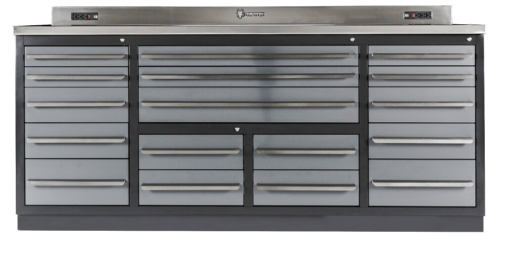 Commercial Workbench with Drawers
