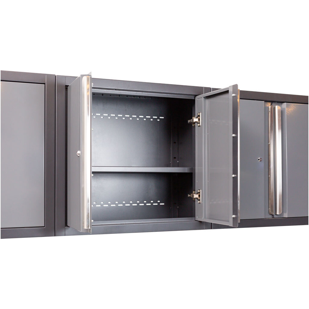 Midnight Pro Series Steel Wall Cabinets from Dragonfire Tools